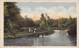 Central Park Showing Lower Lake Topeka Kansas