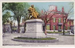 Longfellows Monument Portland Maine