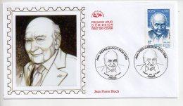 REF UU1  : Enveloppe First Day Cover FDC Premier Jour Jean Pierre Bloch - FDC