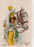 Barre Dayez  22 Dragons 1805 - Non Classés
