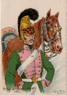 Barre Dayez  3 Regiment De Chevau Legers - Non Classés