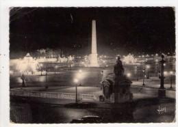 CP 10*15/MM98/PARIS PLACE DE LA CONCORDE 1937 - Places, Squares
