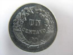 PERU 1 UN ONE CENTAVO 1959 CHOICE UNC TEMPLATE LISTING  . - Pérou
