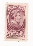 Vignette Ronsard - Imprimerie De Vaugirard - 1524 - 1924 - Fantasy Labels