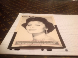 FICHE CINEMA   Sophia Loren - Photographs