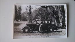 CPA CARTE PHOTO BOULANGERIE COMMERCE  CARTE D EPOQUE - Automobiles