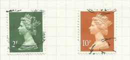 Grande Bretagne  N°1814 à 1815 Côte 4.20 Euros - Usati