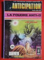 Anticipation N° 3 Aredit Artima Petit Format J. Vandel Bon état - Arédit & Artima