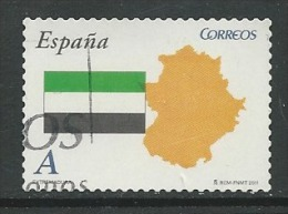 Spanje Yv 4275 Jaar 2011,   Gestempeld, Zie Scan - 1931-Aujourd'hui: II. République - ....Juan Carlos I