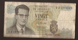 België Belgique Belgium 15 06 1964 20 Francs Atomium Baudouin. 2 J 1978007 - 20 Francs