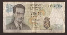 België Belgique Belgium 15 06 1964 20 Francs Atomium Baudouin. 2 K 2937774 - 20 Francs