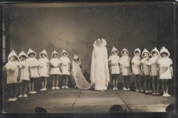 Carte Photo - ALENCON - SPECTACLE D'ENFANTS - Edition Photographe Georges Moitet - Alencon
