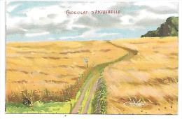 CHROMO - CHOCOLAT D´AIGUEBELLE -  Paysage - Aiguebelle