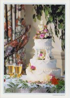 PGR-106-G : ## Huwelijkstaart ## : FEASTING,FEEST,FÊTE, HUWELIJK,MARIAGE,WEDDING, GATEAU,FANCY CAKE,WIJN,VIN,WINE, - Other