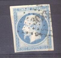 CLX 237 :  YV  14  (o)  PC  3033  Saint Cosme - 1849-1876: Période Classique