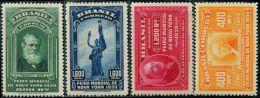DK0167 Brazil 1939 New York Expo 4v MNH - Etats-Unis