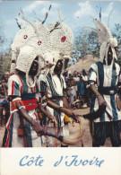AFRIQUE DE L´OUEST,AFRICA,AFRIKA,COT E D´IVOIRE,Prés MALI,BURKINA FASO,LIBERIA,Guninée,DANS E,DANSEUR SENOUFOS,SORCELlER - Côte-d'Ivoire