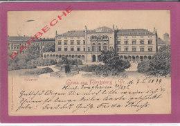 GRUSS  AUS RÖNIGSBERG I. Pr. .- Universität - Ostpreussen