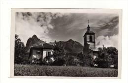 Cpsm N° 5529 PASSY L ' Eglise L ' Aiguille De Warens - Passy