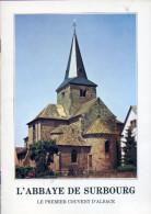 Livre - L'abbaye De Surbourg - Alsace