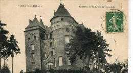 CPA 42 NOIRETABLE CHATEAU DE LA CROIX DE GUIRANDE 1916 - Noiretable