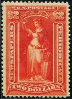 DK0243 United States 1896 Newsprint Stamps 1v MLH - Unused Stamps