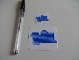 Autocollant - TF1 - Télévision X2 - Stickers