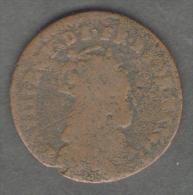FRANCE - 2 LIARD De FRANCE (DATE ?) - LOUIS XIV --- - 987-1789 Monete Reali