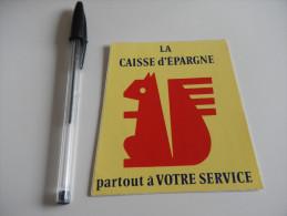 Autocollant - Banque - CAISSE D´EPARGNE écureil - Service - Autocollants