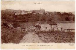 Ambierle - Vue Générale, Côté Est - France