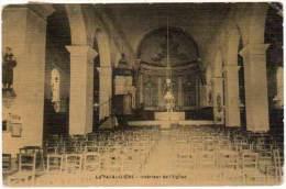 La Pacaudière - Intérieur De L'église - La Pacaudiere