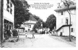 Vallée De La Sioule -- CHATEAUNEUF-les-BAINS (P-de-D) Le Quartier Du Petit-Rocher - Autres Communes