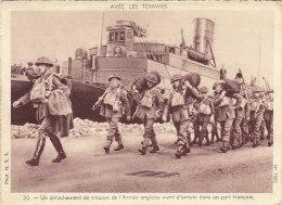 Aviation - Militaria - English Army - Débarquement Bâteau Troupes - 1939-1945: 2ème Guerre