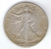 STATI UNITI HALF DOLLARS 1941 AG SILVER - Emissioni Federali