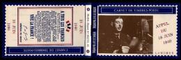 Carnet Privé  Appel Du 18 Juin Du Général De Gaulle ! - Carnets