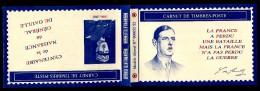 Carnet Privé  Centenaire De La Naissance Du Général De Gaulle ! - Carnets
