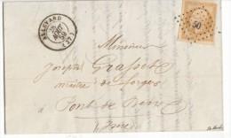 013. LAC N°13 - De Allevard (Isère) - 1859 - 1849-1876: Période Classique