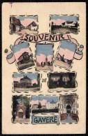 GAVERE - SOUVENIR DE GAVERE - ( édit. Jules D´Hondt - Vergucht - Marcovici ) - Niet Courant ! - Gavere