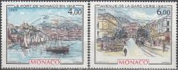 Monaco 1985 Yvert 1492 - 1493 Neuf ** Cote (2015) 7.75 Euro La Belle époque - Monaco