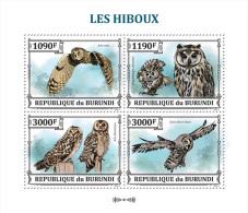bur13311a Burundi 2013 Bird Owl s/s