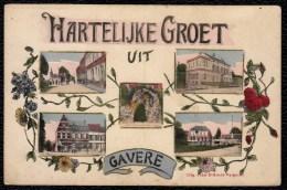 GAVERE - HARTELIJKE GROET UIT GAVERE - ( édit. Jules D´Hondt - Vergucht - Marcovici ) - Niet Courant ! - Gavere