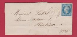 Lettre //  Pour Rixheim //  15 Juin 1862 - Marcophilie (Lettres)