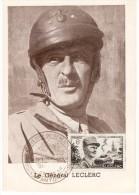 "VA/12 - Francia  General Leclerc Annullo Antony (Seine) 28/11/1948 ""Exposition Souvenirs Du General Leclerc"" - Militaria"