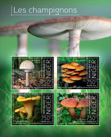 nig13717a Niger 2013 Mushrooms s/s