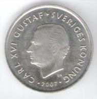 SVEZIA 1 KRONA 2007 - Suecia