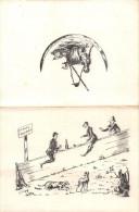 """¤¤   -   MENU Fin XIXe   -  Chasseurs , Chasse , Chiens  -  Illustrateur """" G. Séguy """"  -  ¤¤ - Menus"""