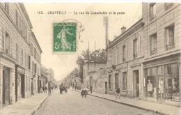 CHANTILLY - La Rue Du Connétable Et La Poste - Nbx Commerces - Animée - Chantilly