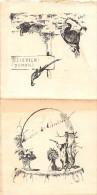 """¤¤   -   MENU  -  Chasseurs , Chasse , Lapin , Lièvre , Faisans  -  Illustrateur """" G. Séguy """"  -  ¤¤ - Menus"""