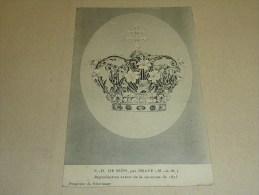 N-D DE SION PAR PRAYE - REPRODUCTION EXACTE DE LA COURONNE DE 1873 - 54 MEURTHE ET MOSELLE (G) - Autres Communes
