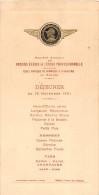 ¤¤  -  MENU  -  NANTES  -  Anciens Elèves De L'Ecole Professionnelle En Novembre 1931  -  ¤¤ - Menus